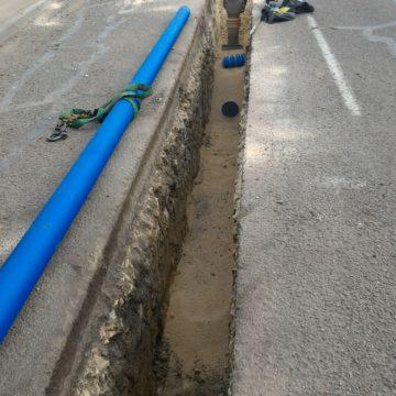 actualités ica - Réhabilitation de réseaux de desserte d'eau potable à Saint Eloy de Gy et Vasselay